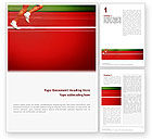 Sports: Race Word Template #02056