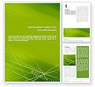 Telecommunication: Modèle Word de vert binaire #02070