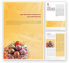 Religious/Spiritual: Easter Word Template #02079