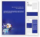 Business: Business Relations In A Corporation Word Template #02114