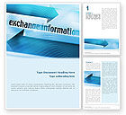 Telecommunication: Information Exchange Word Template #02125