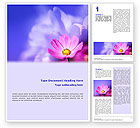 Nature & Environment: Flower Word Template #02128