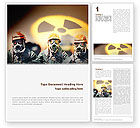 Military: Modèle Word de contamination radioactive #02143