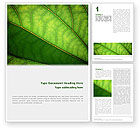 Nature & Environment: Botany Word Template #02176