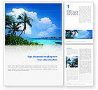 Nature & Environment: Exotic Island Word Template #02272
