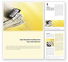 Financial/Accounting: Dollars Word Template #02283
