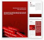 Business Concepts: Besparingen En Credits Word Template #02289