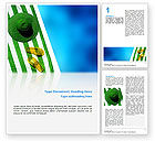 Careers/Industry: Beach Accessories Word Template #02293