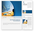 Education & Training: School Learning Word Template #02328