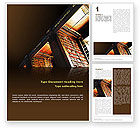 Education & Training: Book Shelf Word Template #02347
