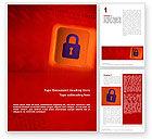 Technology, Science & Computers: Veiligheid Van De Site Word Template #02352