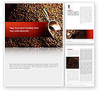 Careers/Industry: Scattering of Coffee Word Template #02392
