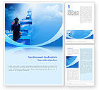 Education & Training: Graduate Word Template #02397