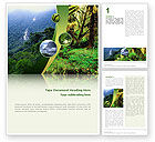 Nature & Environment: Rainforest Word Template #02398
