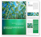 Nature & Environment: Modello Word - Foresta #02415