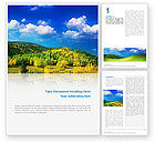 Nature & Environment: Scenery Word Template #02425