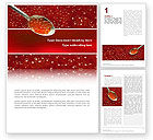 Food & Beverage: Caviar Word Template #02455