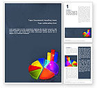 Financial/Accounting: Pie Chart Word Template #02458