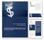 Financial/Accounting: Dollar In Deep Dive Word Template #02464