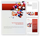 Medical: Pills and Tablets Word Template #02467