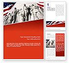 America: Alamo Monument Word Template #02477