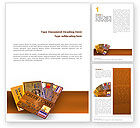 Financial/Accounting: Plastic Creditcard Word Template #02491