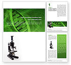 Technology, Science & Computers: DNA Research Word Template #02514