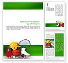 Sports: Sports Inventory Word Template #02527