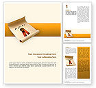 Education & Training: Sealed Diploma Word Template #02528