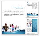 People: Wasser durst Word Vorlage #02537