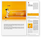 Business Concepts: Pet Word Template #02559