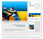 Sports: Sports Club Word Template #02600