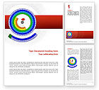 Education & Training: Circular Periodic Table Word Template #02602