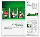 Education & Training: Student Word Template #02603
