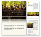Nature & Environment: Soil Word Template #02607