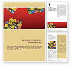 Education & Training: Play and Learn Word Template #02613