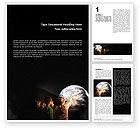 Education & Training: Planetarium Word Template #02625