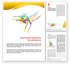 Sports: Magic of Artistic Gymnastics Word Template #02676