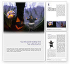 Holiday/Special Occasion: Witch Free Word Template #02698