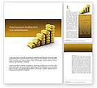 Financial/Accounting: Gold Reserves Word Template #02717