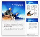 Religious/Spiritual: Preacher Word Template #02719
