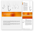 Business Concepts: Hooks Word Template #02722
