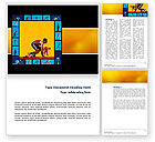 Sports: Athletics Word Template #02729