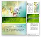 Technology, Science & Computers: 워드 템플릿 - 온라인 지불 #02742