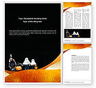 Holiday/Special Occasion: Trick or Treat Word Template #02746
