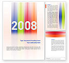 Business Concepts: NYr 2008 in color Word Template #02747
