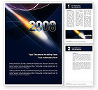 Holiday/Special Occasion: 2008 Word Template #02759