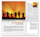 Religious/Spiritual: Family Word Template #02761
