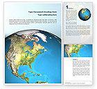 Global: Animated Earth Word Template #02767