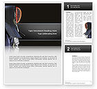 Sports: Kendo Word Template #02779
